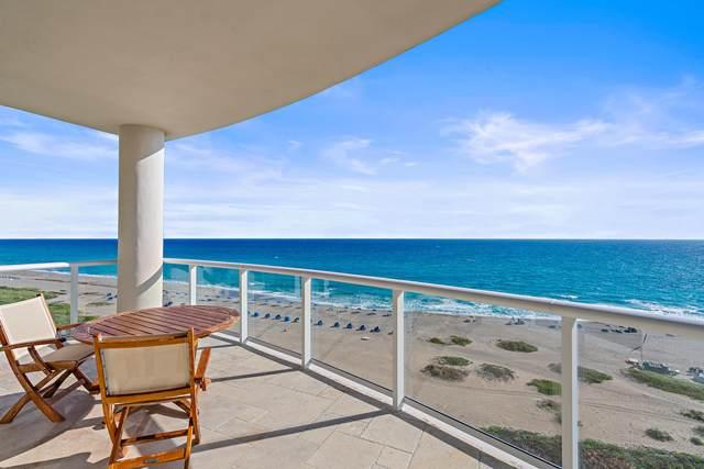 2700 N Ocean Drive 801-A, Singer Island, FL 33404 (#RX-10600180) :: Ryan Jennings Group