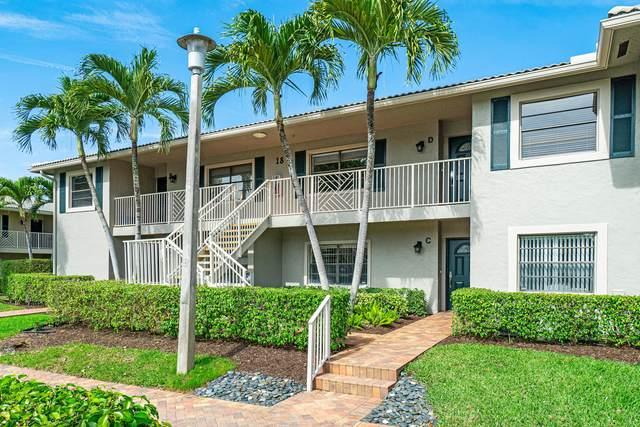 18 Stratford Drive D, Boynton Beach, FL 33436 (MLS #RX-10600422) :: The Paiz Group