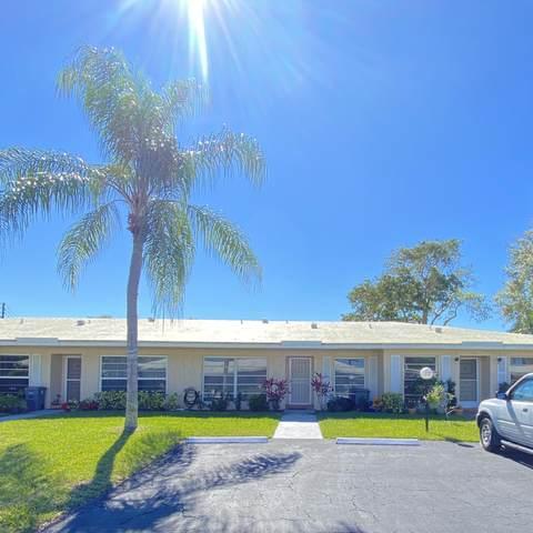 21032 Covington Drive #191, Boca Raton, FL 33433 (#RX-10600506) :: Ryan Jennings Group