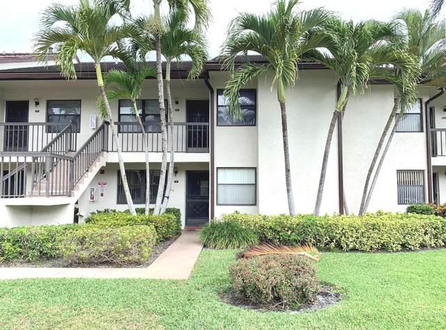 7617 Tahiti Lane #102, Lake Worth, FL 33467 (#RX-10600918) :: Ryan Jennings Group