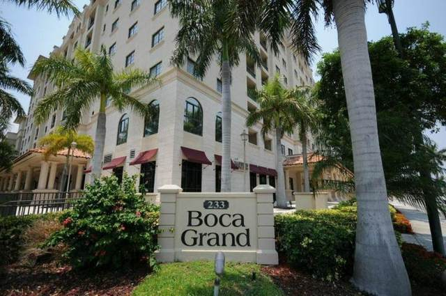 233 S Federal Highway S Lph01, Boca Raton, FL 33432 (MLS #RX-10600967) :: Lucido Global