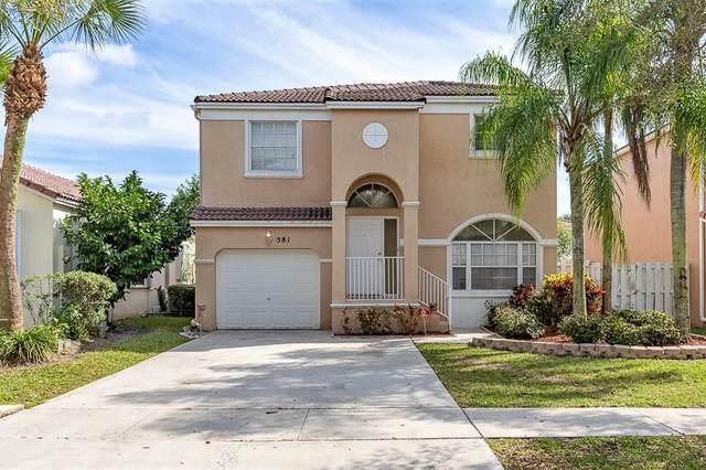 581 NW 158th Avenue, Pembroke Pines, FL 33028 (#RX-10601023) :: Ryan Jennings Group