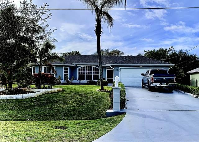 612 SE Dean Terrace, Port Saint Lucie, FL 34984 (MLS #RX-10601040) :: Castelli Real Estate Services