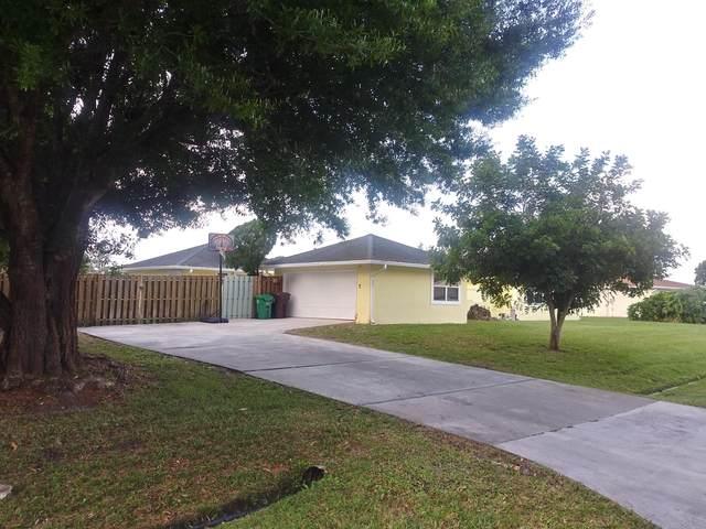 506 SW Ester Avenue, Port Saint Lucie, FL 34983 (MLS #RX-10601152) :: Berkshire Hathaway HomeServices EWM Realty