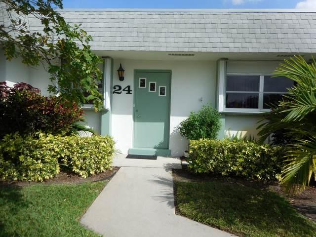 2638 Gately Drive E #24, West Palm Beach, FL 33415 (#RX-10601218) :: Ryan Jennings Group