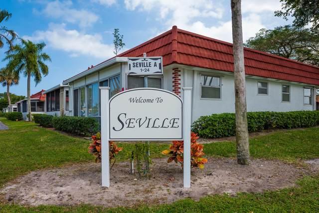 113 Seville D D, Delray Beach, FL 33446 (#RX-10601413) :: Ryan Jennings Group