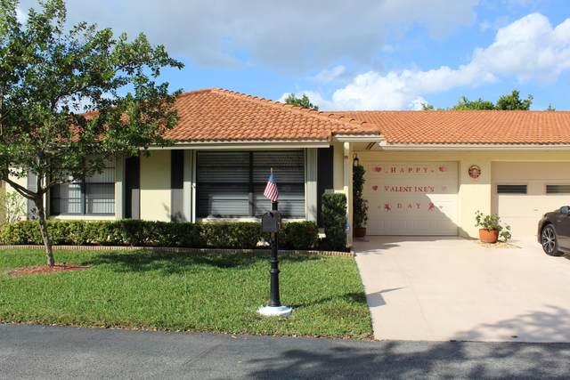 4465 Nutmeg Tree Lane A, Boynton Beach, FL 33436 (#RX-10601416) :: Ryan Jennings Group
