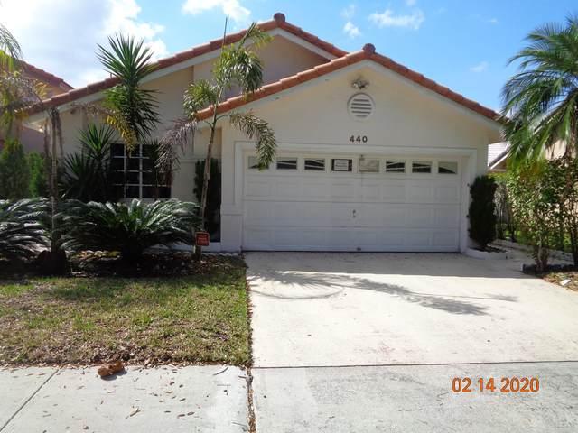 440 SW 176 Avenue, Pembroke Pines, FL 33029 (MLS #RX-10601436) :: The Paiz Group