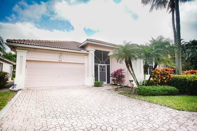 8818 Downing Street, Boynton Beach, FL 33472 (MLS #RX-10601524) :: The Paiz Group