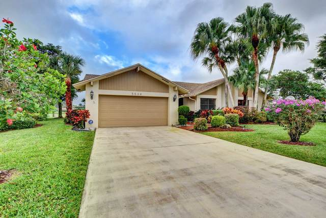 5534 Forest Oaks Terrace, Delray Beach, FL 33484 (#RX-10601560) :: Ryan Jennings Group