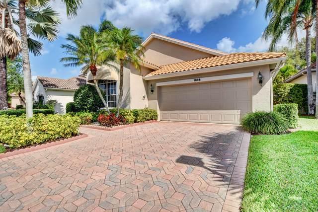 1035 N Diamond Head Way W #1035, Palm Beach Gardens, FL 33418 (#RX-10601577) :: Dalton Wade