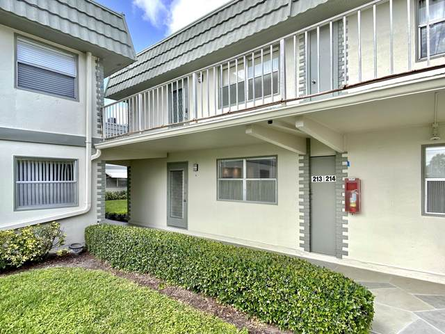 213 Flanders E, Delray Beach, FL 33484 (#RX-10601620) :: Ryan Jennings Group