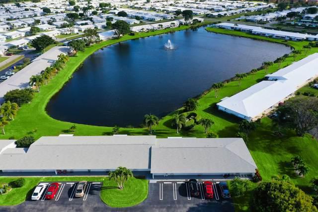 2100 SW Lake Circle Drive #108, Boynton Beach, FL 33426 (MLS #RX-10601621) :: The Paiz Group