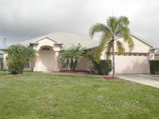 5834 NW Zenith Drive, Port Saint Lucie, FL 34986 (MLS #RX-10601627) :: Berkshire Hathaway HomeServices EWM Realty