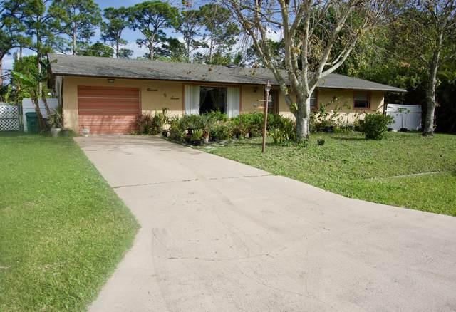 1107 SW Dorchester Street, Port Saint Lucie, FL 34983 (MLS #RX-10601638) :: Berkshire Hathaway HomeServices EWM Realty