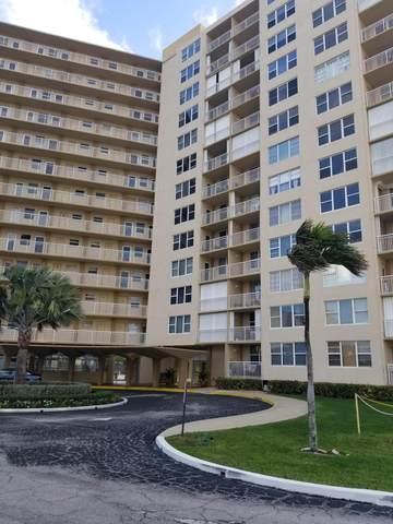 201 N Ocean Boulevard #307, Pompano Beach, FL 33062 (MLS #RX-10601644) :: The Paiz Group