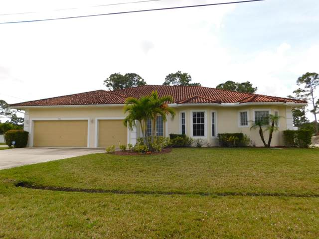 5910 NW Culebra Avenue, Port Saint Lucie, FL 34986 (MLS #RX-10601692) :: Berkshire Hathaway HomeServices EWM Realty