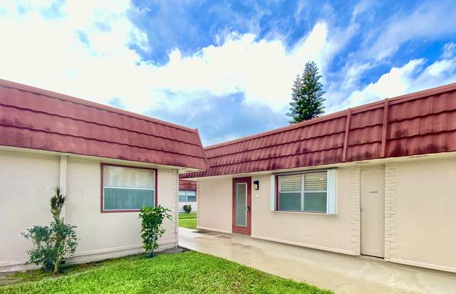 244 Seville K, Delray Beach, FL 33446 (#RX-10601816) :: Ryan Jennings Group