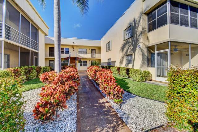 558 Capri L, Delray Beach, FL 33484 (#RX-10601966) :: Ryan Jennings Group