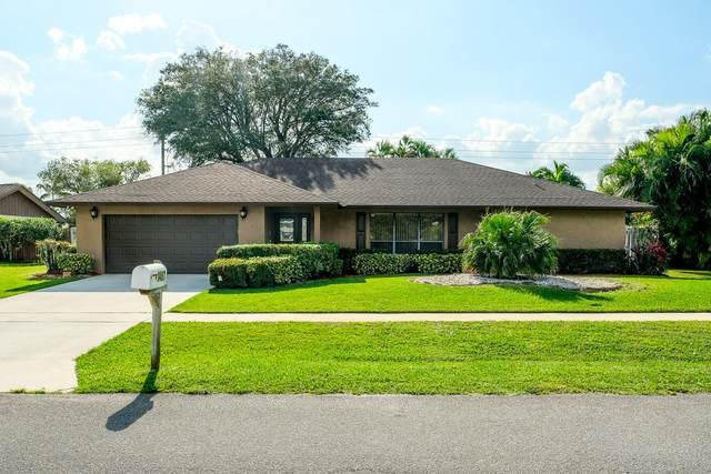 1487 Red Pine Trail, Wellington, FL 33414 (MLS #RX-10602081) :: Berkshire Hathaway HomeServices EWM Realty