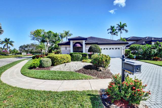 5561 Steeple Chase, Boca Raton, FL 33496 (MLS #RX-10602091) :: The Jack Coden Group