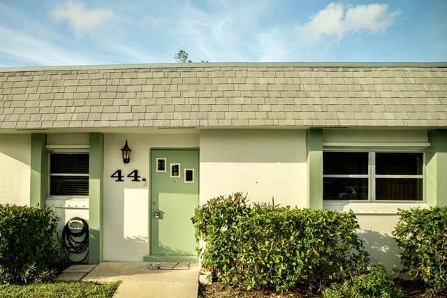 2638 Gately Drive E #44, West Palm Beach, FL 33415 (#RX-10602569) :: Ryan Jennings Group