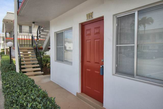 2960 Lake Osborne Drive #106, Lake Worth, FL 33461 (#RX-10602622) :: Ryan Jennings Group