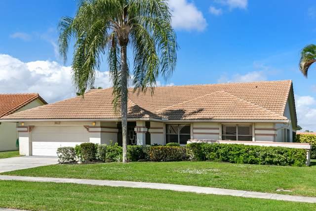 9513 Majestic Way, Boynton Beach, FL 33437 (#RX-10602768) :: Ryan Jennings Group