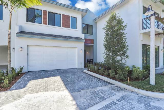 2201 Florida Boulevard G, Delray Beach, FL 33483 (#RX-10602822) :: The Reynolds Team/ONE Sotheby's International Realty