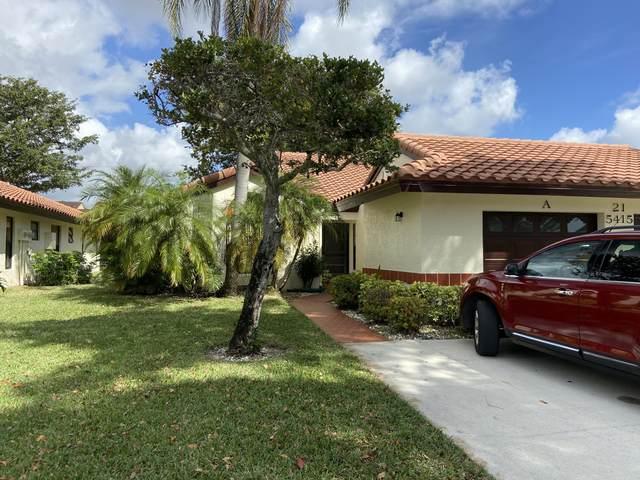 5415 Palm Springs Lane A, Boynton Beach, FL 33437 (#RX-10602972) :: Ryan Jennings Group