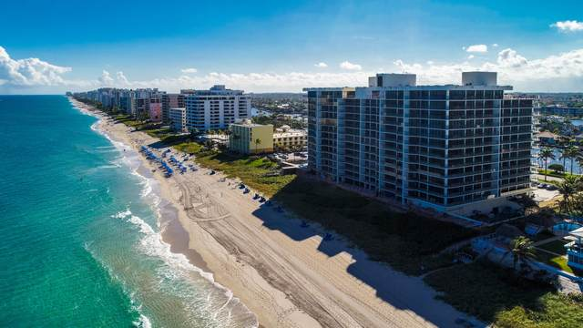 2727 S Ocean Boulevard #606, Highland Beach, FL 33487 (MLS #RX-10602991) :: Castelli Real Estate Services