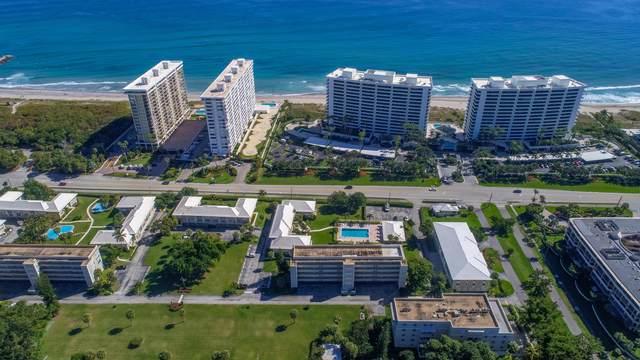 1299 S Ocean Boulevard F3, Boca Raton, FL 33432 (MLS #RX-10603135) :: Laurie Finkelstein Reader Team