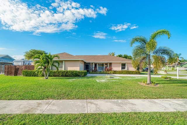 6135 Silver Oak Drive, Lake Worth, FL 33467 (MLS #RX-10603221) :: Berkshire Hathaway HomeServices EWM Realty