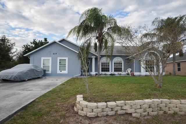 515 SW Jeanne Avenue, Port Saint Lucie, FL 34953 (#RX-10603230) :: Keller Williams Vero Beach