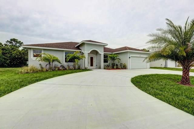 3850 SW Bamberg Street, Port Saint Lucie, FL 34953 (#RX-10603245) :: Keller Williams Vero Beach