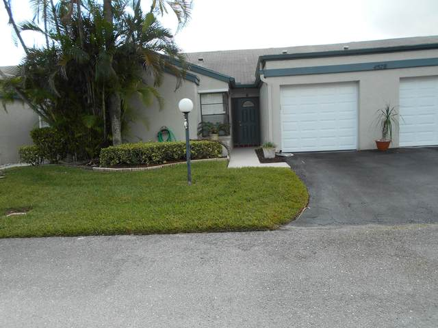 4578 #6 Bangor Avenue, West Palm Beach, FL 33417 (#RX-10603305) :: Dalton Wade