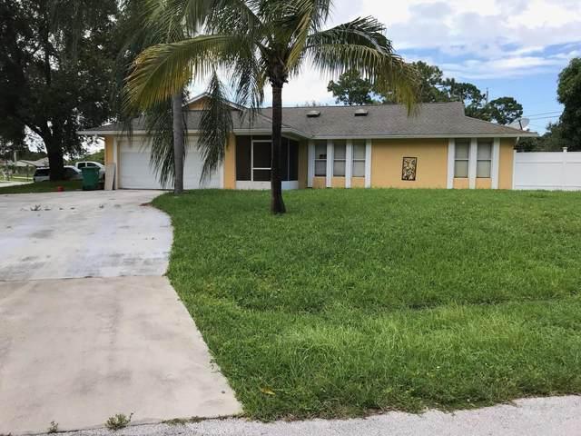 2097 SW Idaho Lane, Port Saint Lucie, FL 34953 (#RX-10603333) :: Ryan Jennings Group