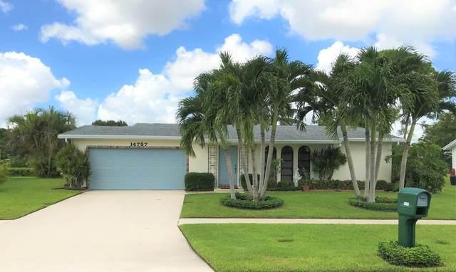 14737 Sunny Waters Lane, Delray Beach, FL 33484 (MLS #RX-10603451) :: Laurie Finkelstein Reader Team