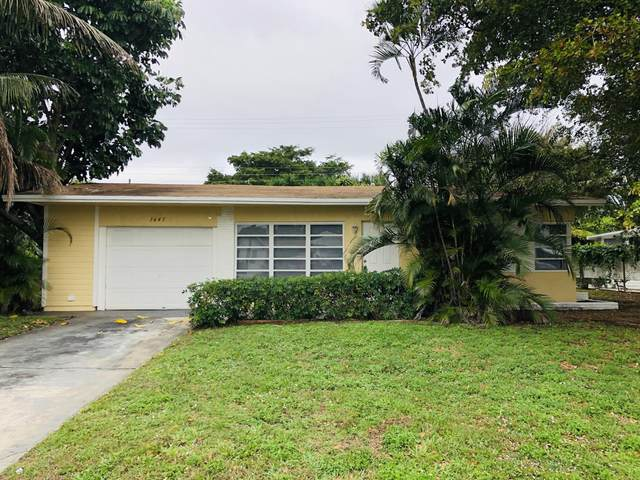 1641 NE 32nd Place, Pompano Beach, FL 33064 (MLS #RX-10603481) :: Berkshire Hathaway HomeServices EWM Realty