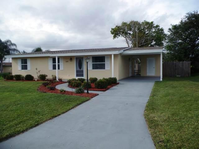 220 W Aldea Street, Port Saint Lucie, FL 34952 (MLS #RX-10603523) :: Berkshire Hathaway HomeServices EWM Realty