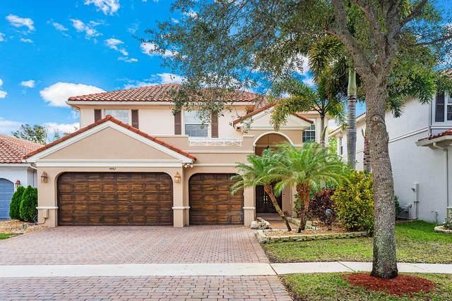 9957 Cobblestone Creek Drive, Boynton Beach, FL 33472 (MLS #RX-10603526) :: Berkshire Hathaway HomeServices EWM Realty