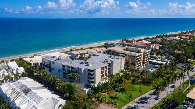 2155 S Ocean Boulevard #18, Delray Beach, FL 33483 (MLS #RX-10603529) :: Berkshire Hathaway HomeServices EWM Realty