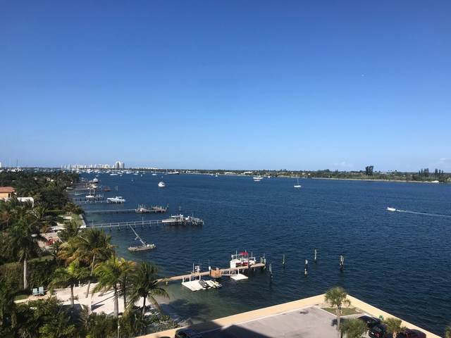 2800 N Flagler Drive #808, West Palm Beach, FL 33407 (MLS #RX-10603817) :: Berkshire Hathaway HomeServices EWM Realty