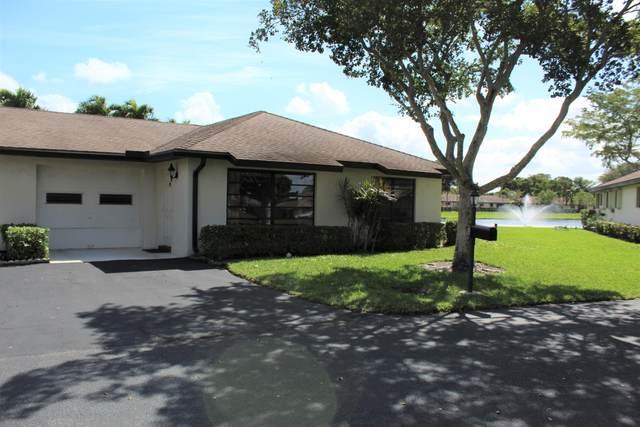 4820 Dovewood Place B, Boynton Beach, FL 33436 (#RX-10604030) :: Realty100