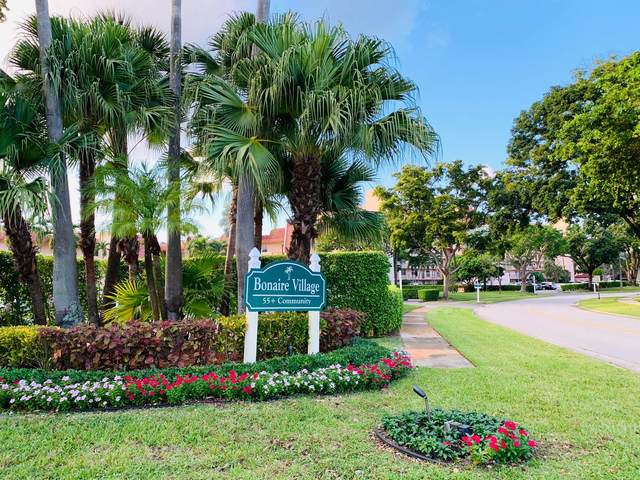 14721 Bonaire Boulevard #302, Delray Beach, FL 33446 (MLS #RX-10604063) :: Best Florida Houses of RE/MAX