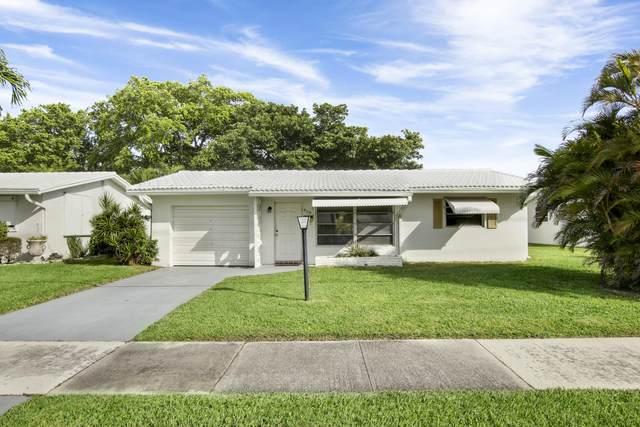 809 Ocean Drive, Boynton Beach, FL 33426 (MLS #RX-10604423) :: Castelli Real Estate Services