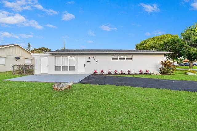 512 Baker Drive, West Palm Beach, FL 33409 (MLS #RX-10604430) :: Berkshire Hathaway HomeServices EWM Realty