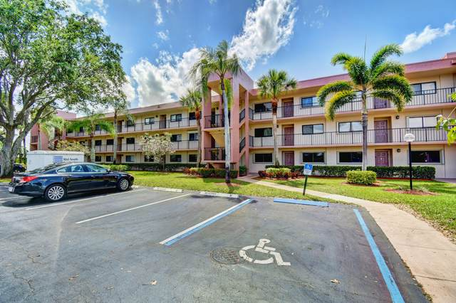 15461 Pembridge Drive #206, Delray Beach, FL 33484 (MLS #RX-10604495) :: Elite Properties and Investments