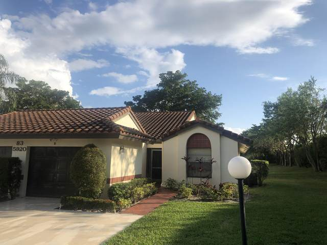 5920 Autumn Lake Lane B, Boynton Beach, FL 33437 (MLS #RX-10604501) :: Berkshire Hathaway HomeServices EWM Realty