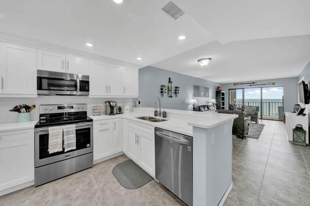 9400 S Ocean Drive #805, Jensen Beach, FL 34957 (MLS #RX-10604613) :: Berkshire Hathaway HomeServices EWM Realty